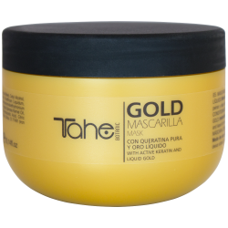 Botanic gold keratin set-Home Kit Shampo + Maske + Behandlung (300 + 300 + 30 ml) TAHE