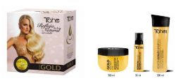Botanic gold keratin set-Home Kit Shampo + Maske + Behandlung (300 + 300 + 30 ml)