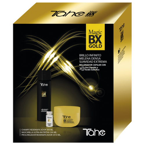 Magic BX Gold Home Kit (Shampoo + Maske + Behandlung 5x10 ml) TAHE