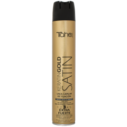 STRONG HOLD SPRAY SATIN KERATIN GOLD fix.3 (400 ml) neue Formel